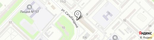 Diamond на карте Караганды