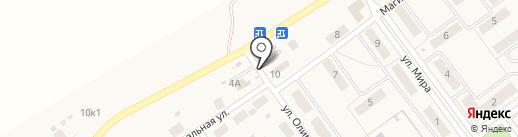Киоск фастфудной продукции на карте Горячего Ключа