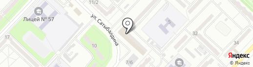 Gentleman на карте Караганды