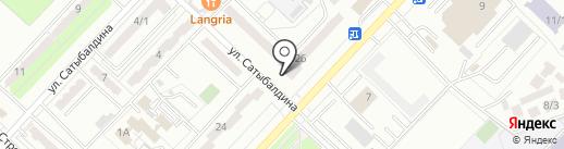 Нотариус Таранов Д.А. на карте Караганды