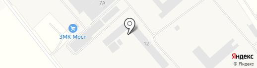 Завод ЖБИ на карте Горячего Ключа