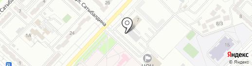 Пункт технического осмотра на карте Караганды