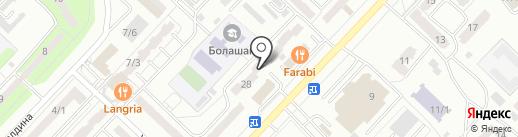 Qaz-Web на карте Караганды