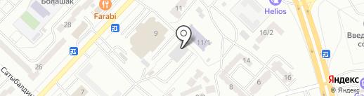 Рейс, ЧУ на карте Караганды