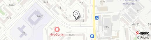 Старый лекарь KZ, ТОО на карте Караганды