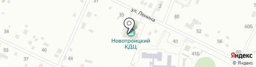 Новотроицкий на карте Новотроицкого