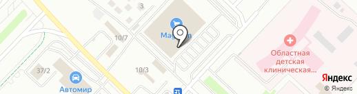 Банкомат, Forte Bank на карте Караганды