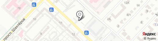 Bis на карте Караганды