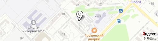 Карагандинский медико-технический колледж на карте Караганды