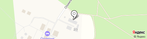 Олимпия на карте Барсово