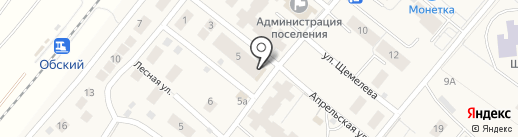СибирьПроектСтрой на карте Барсово