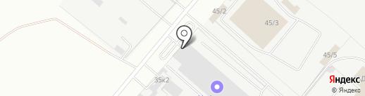 Кузнечная мануфактура на карте Омска