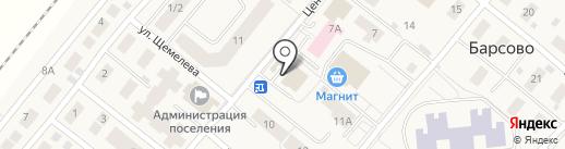 Бублик на карте Барсово