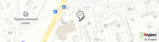 Волынка на карте Караганды