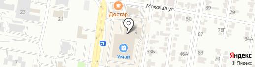 Неваляшка на карте Караганды