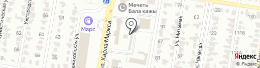 Кимон, ТОО на карте Караганды