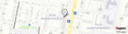 Бусинка на карте Караганды