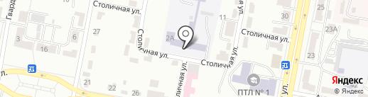 Карагандинский индустриально-технологический колледж на карте Караганды