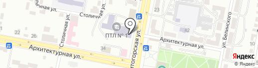 Горно-индустриальный колледж на карте Караганды