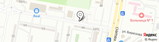 Магазин хозтоваров на карте Караганды