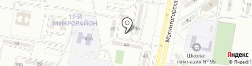Киоск по ремонту обуви на карте Караганды