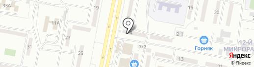 777 на карте Караганды