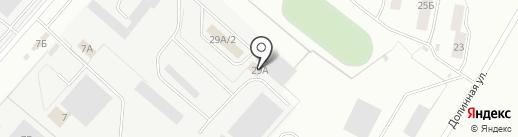 Форд-Лэнд на карте Омска