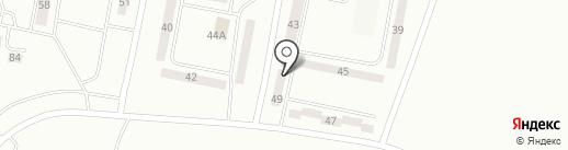 Береке на карте Караганды