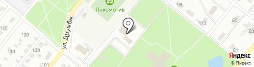Академия боевых искусств Центральной Азии на карте Караганды