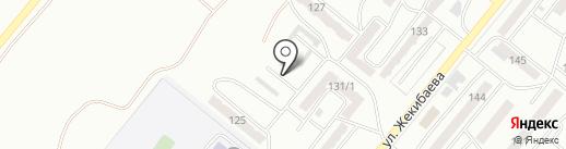 Баня на карте Караганды