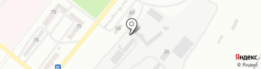 СМП-636, ТОО на карте Караганды