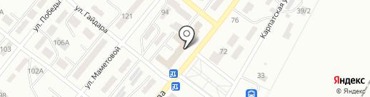 Банкомат, Казкоммерцбанк на карте Караганды