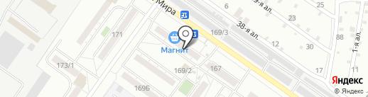 Оптима на карте Омска