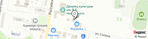 Магазин детских товаров на карте Омска