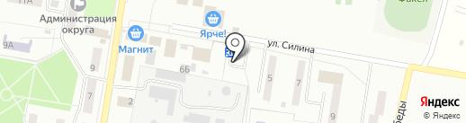 Витаминка на карте Омска