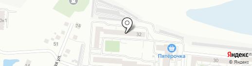 Уютный двор, ТСН на карте Омска