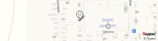 Огонек на карте Уштобе