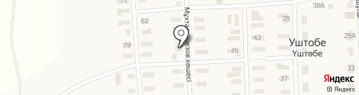 Компания по продаже котлов длительного горения Неделька на карте Уштобе