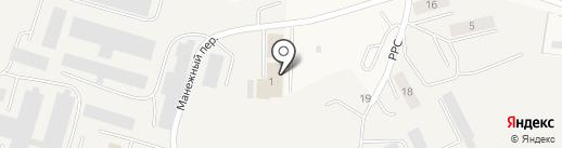 Сайгатина на карте Белого Яра