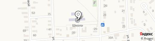 Уштобинская средняя школа на карте Уштобе