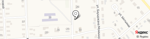 777 на карте Уштобе
