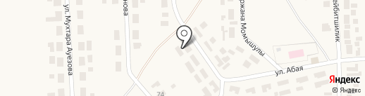 Сәлем на карте Уштобе