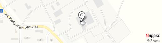 Тритон М, ТОО на карте Уштобе