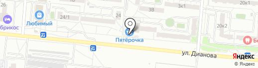 Растегаефф на карте Омска