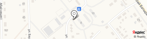 Еркемай на карте Уштобе