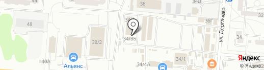 Вкусняшка на карте Омска