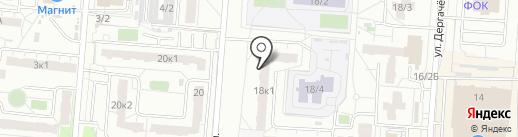 Ракушка на карте Омска