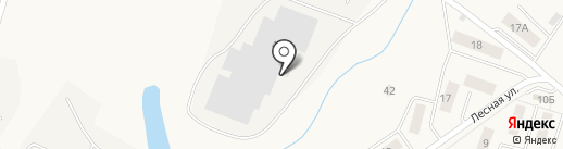 Пенькоф на карте Белого Яра