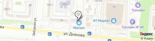Еврочистка на карте Омска