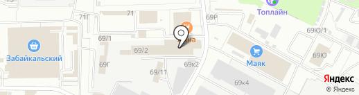 СИБКОМПЛЕКТ ПЛЮС на карте Омска